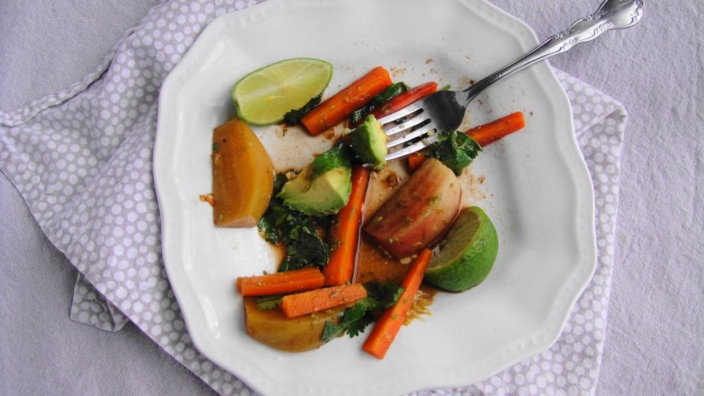 salad eaten