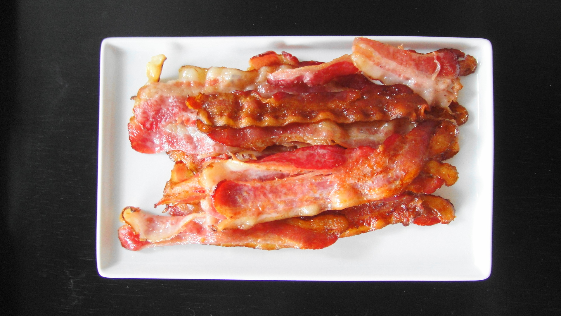 Easy Perfectly Cooked Bacon