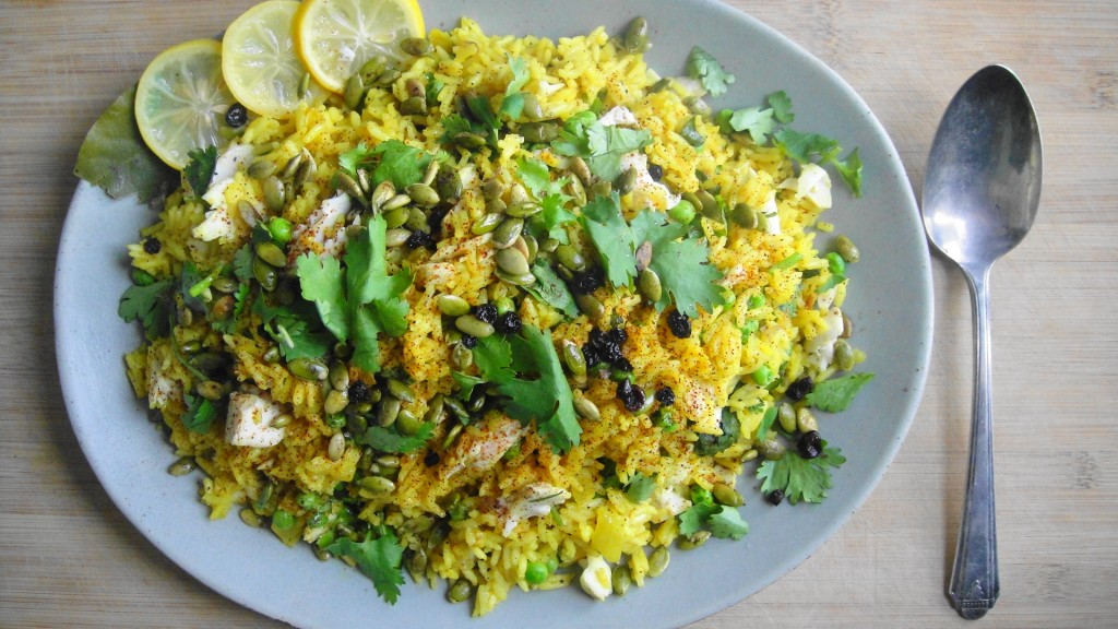 Kedgeree (Indian Spiced Rice with Fish) | FreshNess