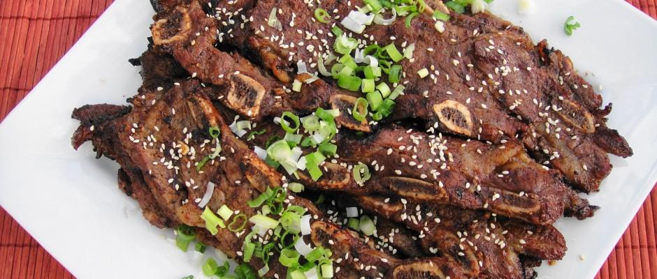 Korean Beef Short Ribs (Galbi or Kalbi)