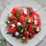 Watermelon Feta Salad | freshnessgf.com