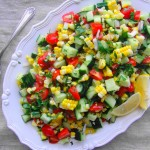 Summer Corn Salad | freshnessgf.com