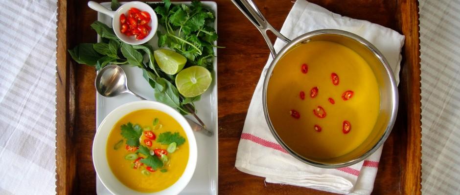 Thai Squash and Coconut Milk Soup | Freshnessgf.com