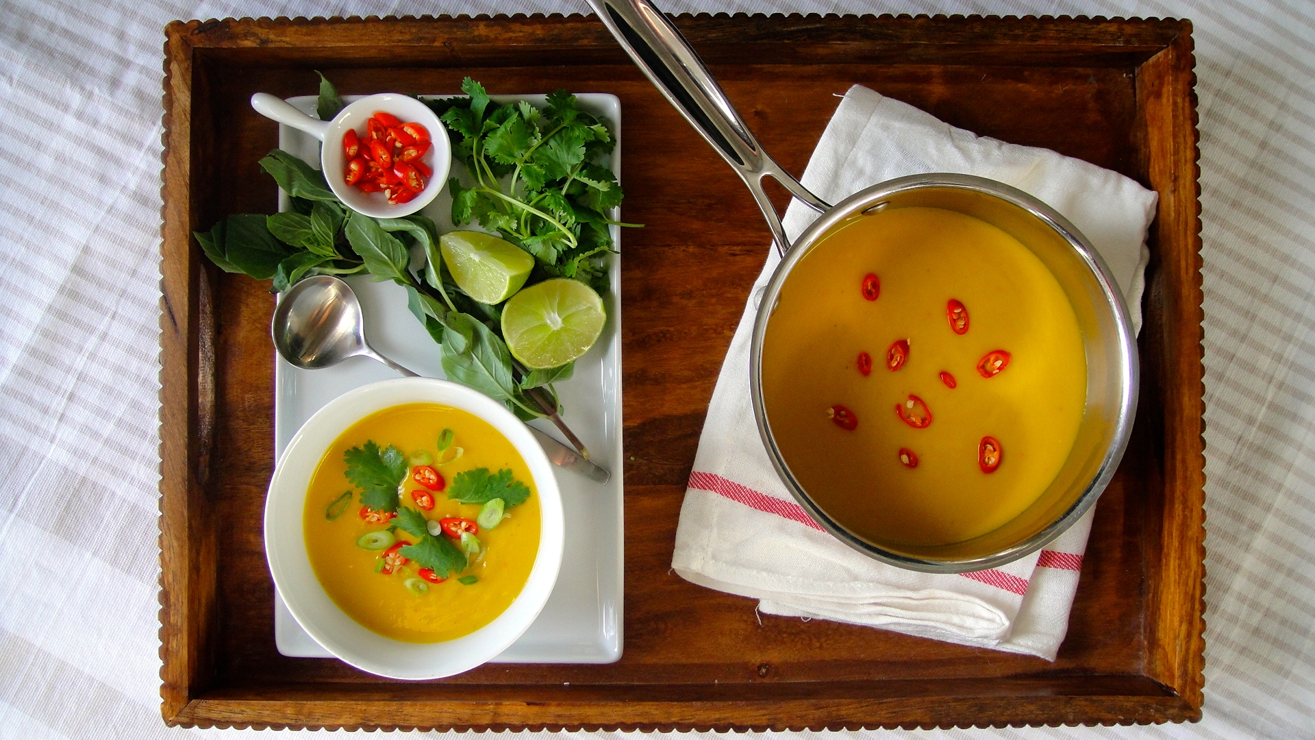 Thai Squash and Coconut Milk Soup