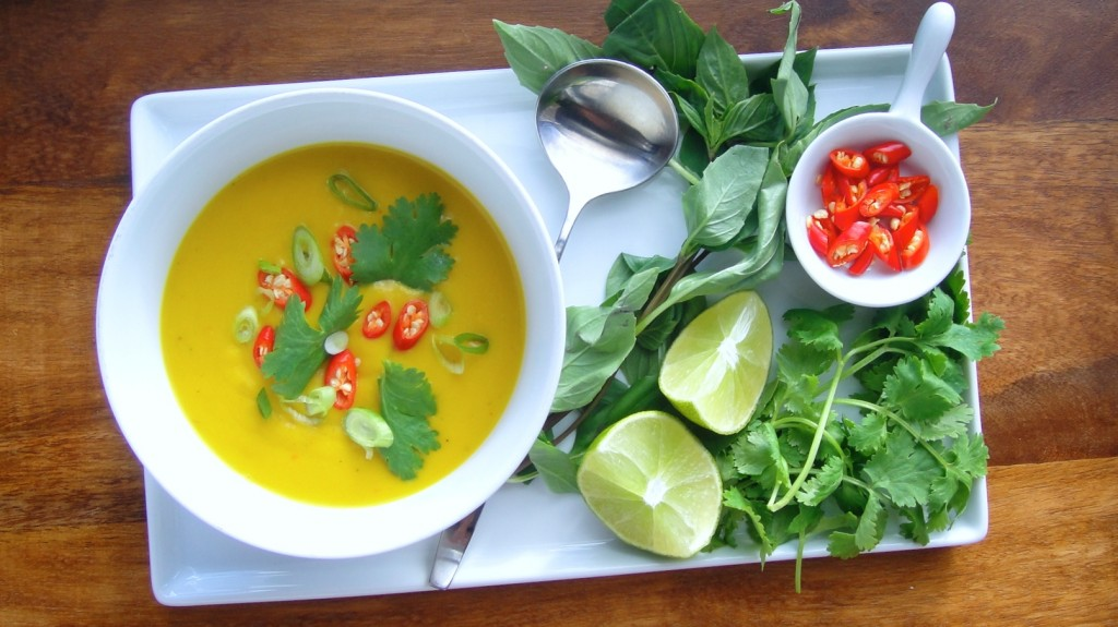 Thai Squash and Coconut Milk Soup | Freshnessgf.com