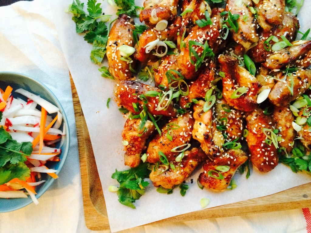 Sweet and Spicy Asian Chicken Wings | Freshnessgf.com