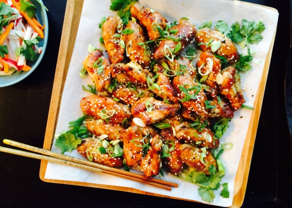 Sweet and Spicy Asian Chicken Wings   Freshnessgf.com