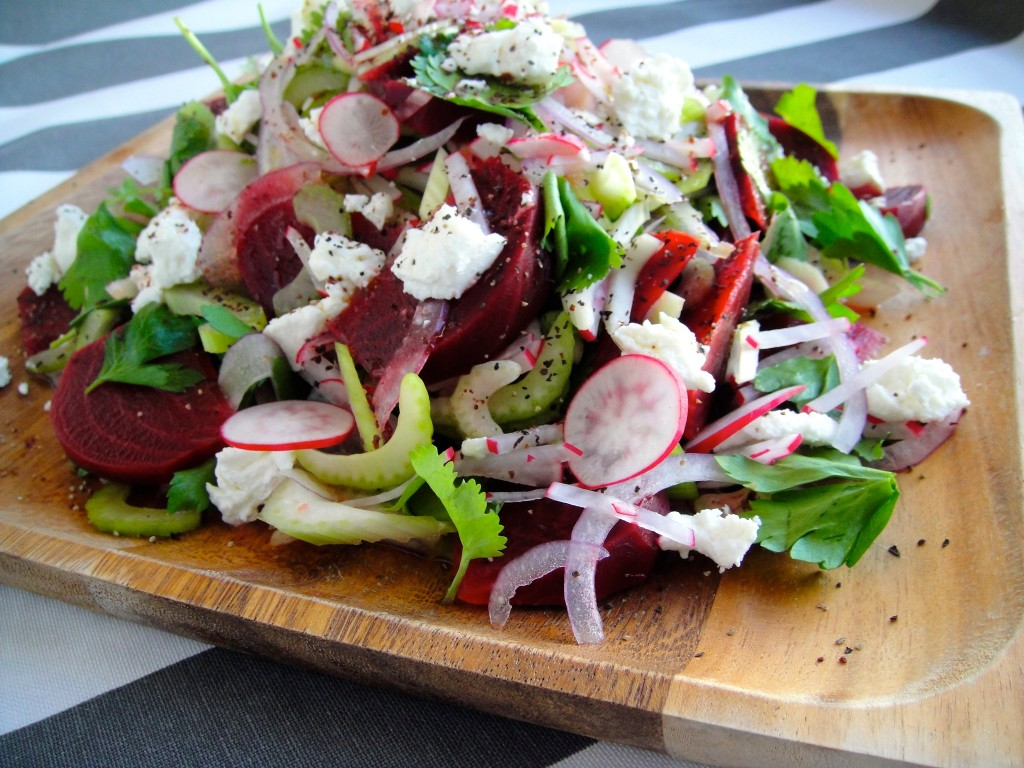 Herbed Beet and Celery Salad
